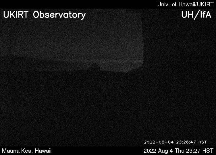 View from UKIRT @ Mauna Kea